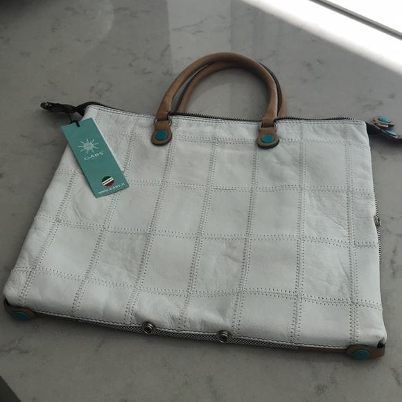 9f6e353785c9 Gabs Convertible flat shopping bag in white